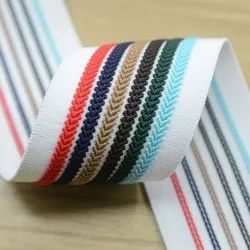Multicolor cotton customize printing Twill Tapes