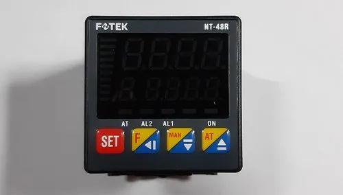 Pid Temperature Controller FOTEK Taiwan Fotek NT Series Temperature Controller, Model Number: Nt-48r, Nt-20r, Size: 48*48 mm