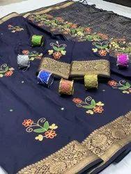 New Generation Beautiful Dola Silk Saree