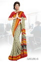 Office Wear Uniform Saree