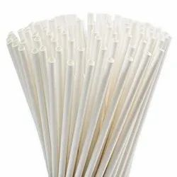 6 mm White Paper Straw