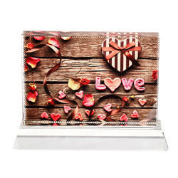 VBSJ - 08B Sublimation Crystal Photo Frame