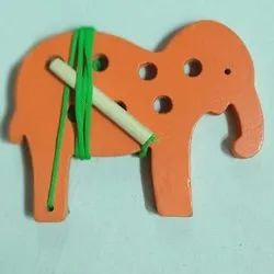 Lacing Small Elephant Toy