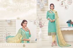 Printed Unstitch Latest Dress Material Salwar Suit