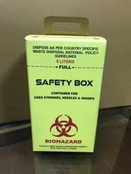 Safety Syringe Box