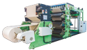 Automatic Reel To Sheet Ruling / Flexo Printing Machine.