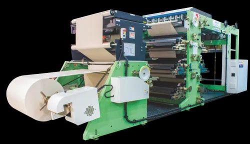 Automatic Reel to Sheet Ruling/Flexo Printing Machine