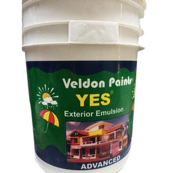 High Gloss Veldon Paints Yes Exterior Emulsion, Packaging Type: Bucket, Packaging Size: 20 L