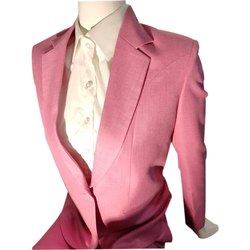 Hangerme Plain Ladies Pink Blazer