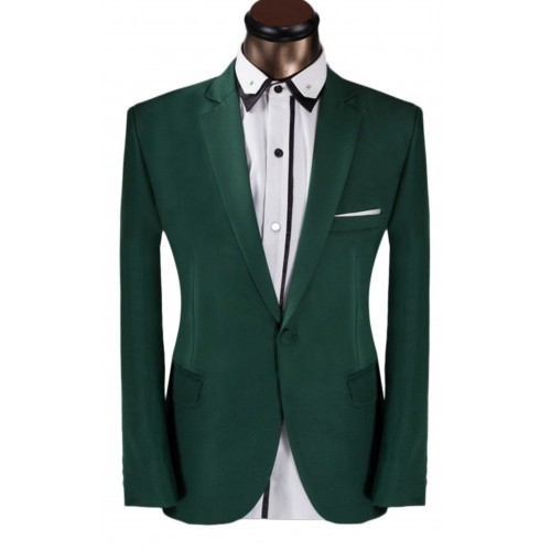 Vimal Green Formal Wear Mens Suit