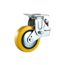 Spring Loaded PU Caster Wheels