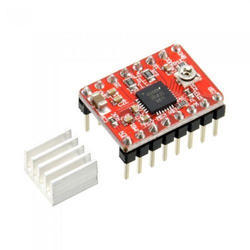 A4988 ( with Heat-Sink ) ( Red ) Stepper Motor Driver