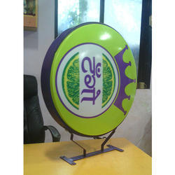 Glow Signs Round Board