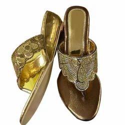 1db4e16218a Golden Ladies Designer Sandal