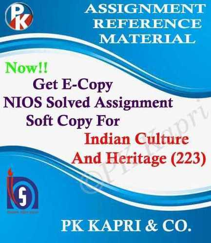 Heritage book nios culture and