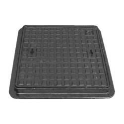 SJIF/ KAJ Black Belgium Manhole Cover, Load Capacity: 40 Tonnes, for Drainage Cover