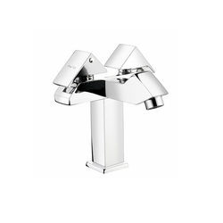 Central Hole Basin Mixer With 450mm Braided Hose
