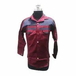 Red Fogg Kids Casual Cotton Shirt