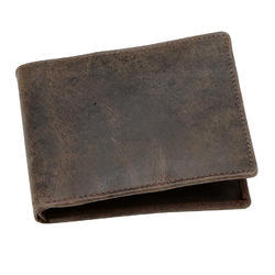 Male Custom Colour Vintage Leather Wallet