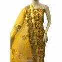 Ladies Kota Cotton Printed Unstitched Suit