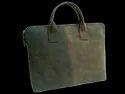 Slim Leather Laptop Handbag