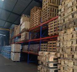 Mild Steel Rectangular Industrial Pallet Storage Racks
