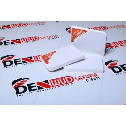 White Denwud Ultima PVC Board, Size: 8 X 4 Feet, Thickness: 12 To 18 Mm