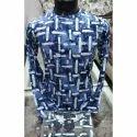 Men Cotton Printing Full Sleeves T Shirts