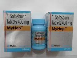 Myhep 400mg Tab Sofosbuvir