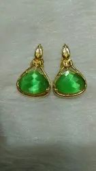 Colour Stone  Antique Earrings