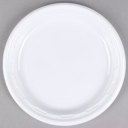 Disposable White Paper Plate