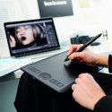 Wacom Intuos Pro PTH-460/K0-CX Digital Graphic Drawing Tablet for Mac or PC, Small