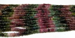AAA Quality Natural Multi Tourmaline Beads