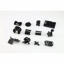 Black Plastic Molded Parts, Injection Molding