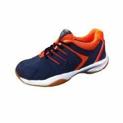 Lace-up Pu Badminton Shoes, Size: 2-12