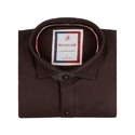 Brown Color Club Wear Shirt