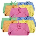Unisex Cotton Baby Plain Reusable Nappies, Packaging Type: Packet