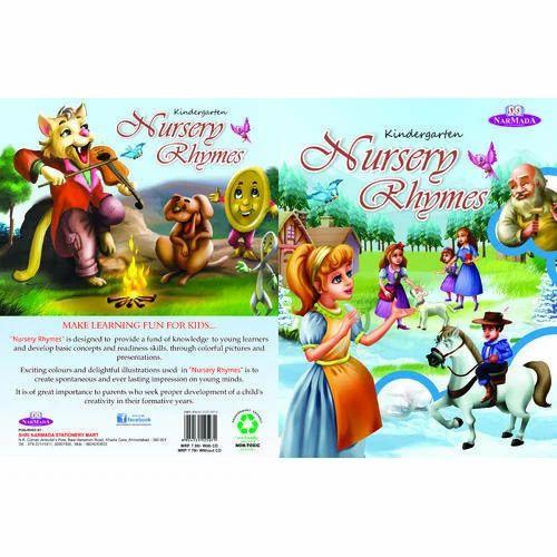 Kindergarten Nursery Rhymes Books