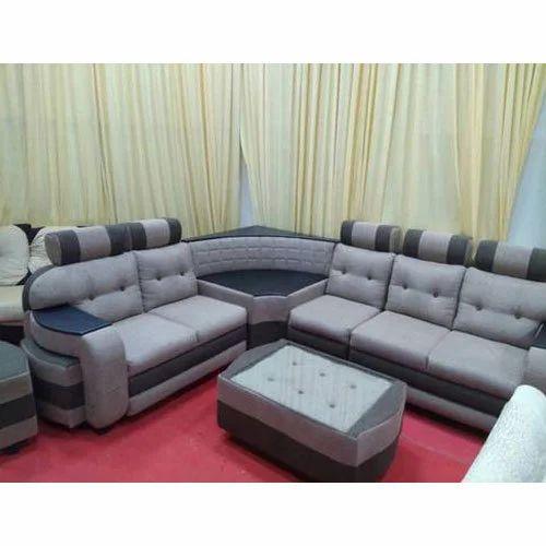 Corduroy Fancy Corner Sofa Set Rs 29500 Set Vee Care Id 15568018655
