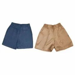 School PV Plain Shorts