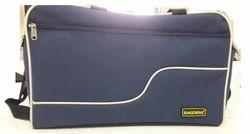 Polyester Blue Travel Dufflel Bag