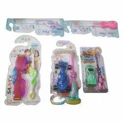 Lotus-Flox Kids Toothbrush with toy