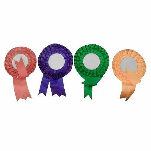 Volunteer Badge - Customised Ribbon Badge Wholesale Trader