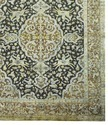 Handmade Wool Saree Silk Oxidized  Rugs