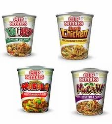 GOLDEN CROWN Veg And Non Veg CUP NOODLES, Packaging Size: 55GM