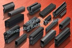 Natural Square Rubber Profile