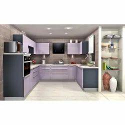 U Shaped Designer Modern Kitchen