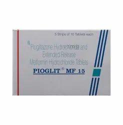 Pioglitazone & Metformin PIOGLIT MF 15 Tablet