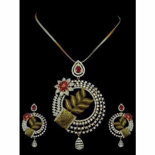Cz pendants set at rs 1565 piece michael nagar kolkata id cz pendants set aloadofball Image collections