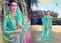 Tanishk Fashion Alora Banrasi Jaquard Palazzo Style Salwar Kameez Catalog